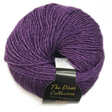 yarns northwest diana collection silk and merino purple