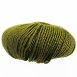 yarns northwest diana collection silk and merino logen green