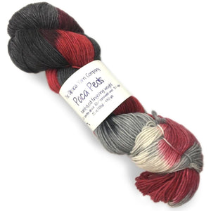sock yarn paca peds alpaca yarn co vampire kiss 611