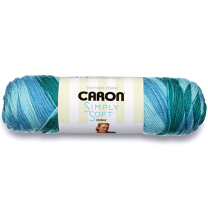 Simply Soft Ombre, by Caron, 25% More Yarn