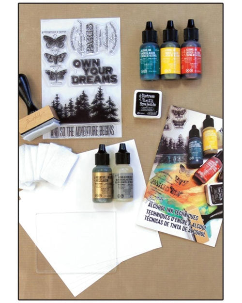 tim holtz art kit adult art kit alcohol inks
