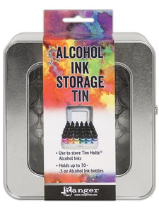 alcohol inks storage box tim holtz jacquard pinata