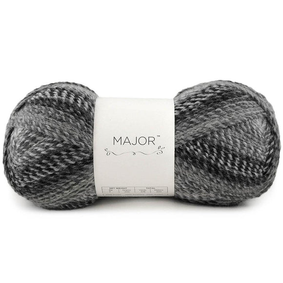 universal yarns major every day knitting yarn large ball graphite