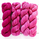 urth yarns merino gradient kit raspberry 803