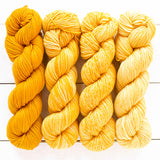 urth yarns merino gradient kit yellow daisy