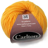 bright yellow baby yarn dk weight machine washable merino