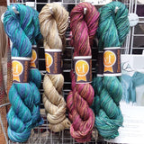Serenade Hand Painted Silk Yarn by Vijay Fibers