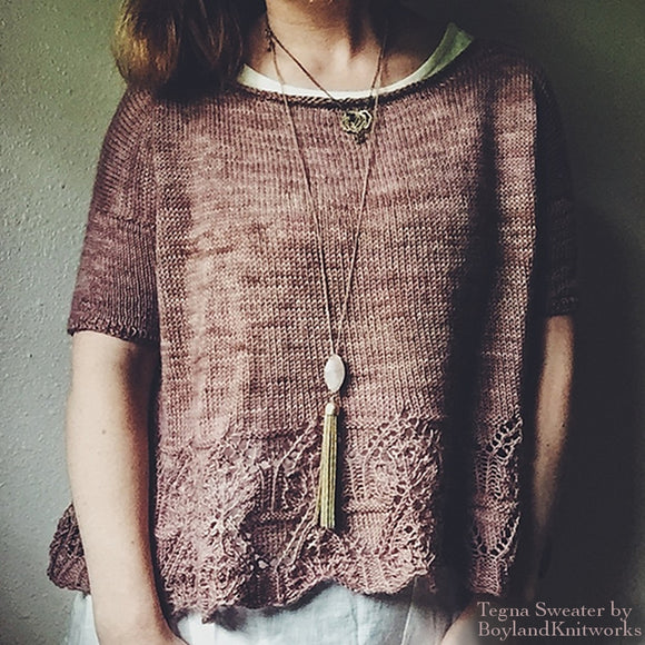 Tegna Sweater Kit by Caitlin Hunter
