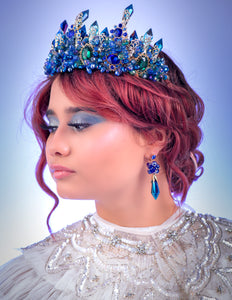 Inspired Blue Mermaid Tiara