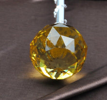 Load image into Gallery viewer, Spell-Casting Yellow Crystal Scepter Wand