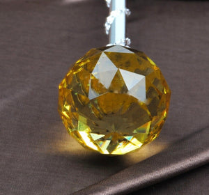 Spell-Casting Yellow Crystal Scepter Wand