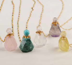 Miraculous Crystal Perfume Bottle Pendants