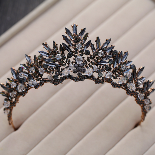 Black Magic Vintage Tiara