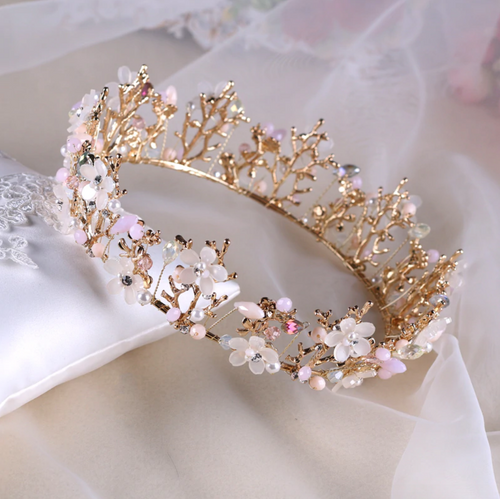 Charming Decorative Flower Crown