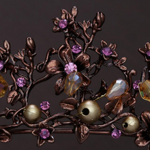 Load image into Gallery viewer, Fetching Dreamy Purple/Bronze Tiara