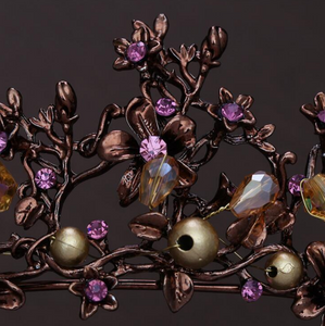 Fetching Dreamy Purple/Bronze Tiara