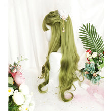 Load image into Gallery viewer, Bright Green Tree Fairy Wig
