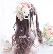 Load image into Gallery viewer, Cultured Sophisticated Brown/Purple Wig