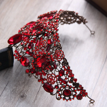 Load image into Gallery viewer, Jazzed Regal Red Diadem