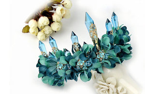 Irresistible Teal Fairytale Crown