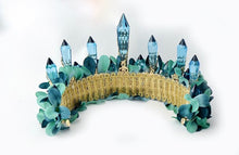 Load image into Gallery viewer, Irresistible Teal Fairytale Crown
