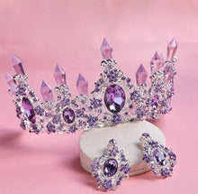 Load image into Gallery viewer, Mystical Magnificent Purple Crown