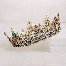 Load image into Gallery viewer, Fabulous Colorful Queenly Crown