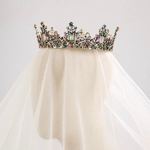 Fabulous Colorful Queenly Crown