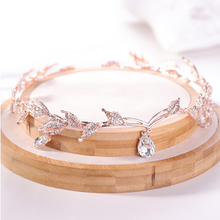 Load image into Gallery viewer, Just Pixie Waterdrop Tiara in Rose