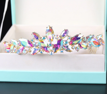 Load image into Gallery viewer, Outspoken Glass Pixie Tiara