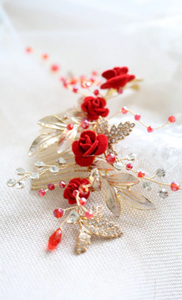 Seductive Charming Floral Headpiece