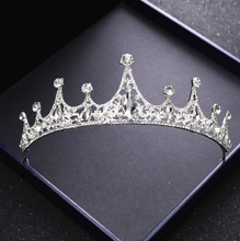 Load image into Gallery viewer, Divine Bridal Princess Crown