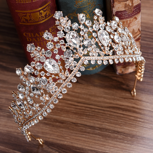 Gorgeous European Tiara in Ivory