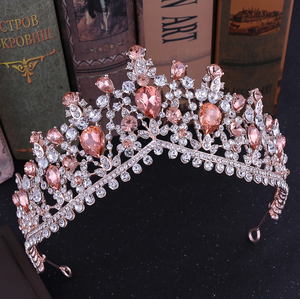Gorgeous European Tiara in Rose