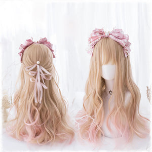Sweet Pink & Blonde Fairy Hair