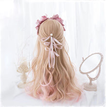 Load image into Gallery viewer, Sweet Pink & Blonde Fairy Hair