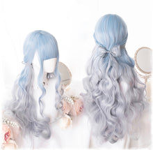 Load image into Gallery viewer, Unicorn Spirit Blue Ombré Wig
