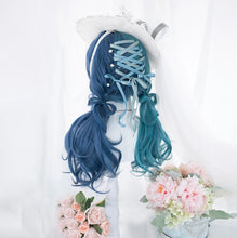 Load image into Gallery viewer, Outstanding Brilliant Blue Wacky Wig