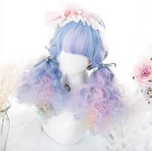 Wonderland Rainbow Unicorn Wig