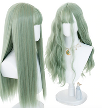 Load image into Gallery viewer, Zealful Passionate Green Hero Wig