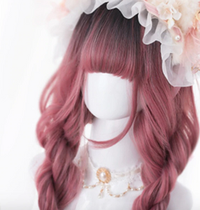 Provocative Gothic Party Girl Wig