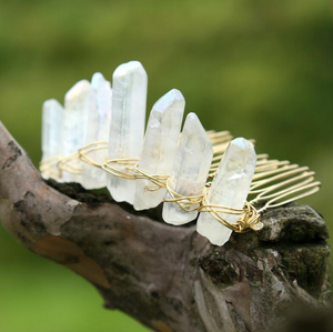 Lavish Crystal Aura Pins