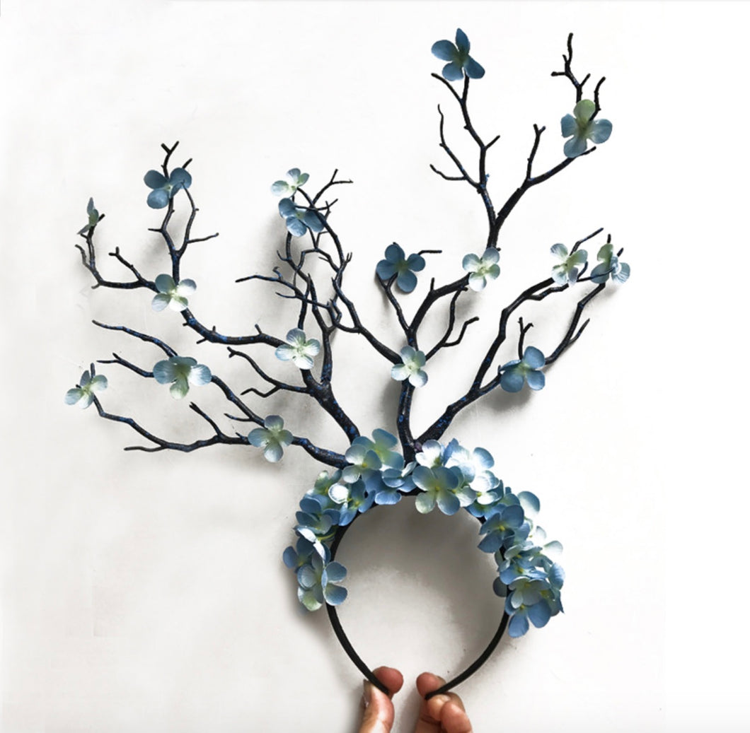 Spellbinding Tree Branch Headpiece