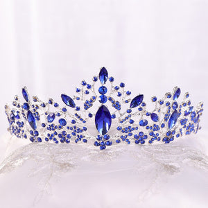 Light-Hearted Deep Blue Diadem