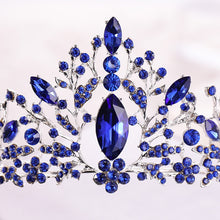 Load image into Gallery viewer, Light-Hearted Deep Blue Diadem
