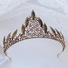 Load image into Gallery viewer, Stylish Wood Elf Fairy Tiara