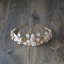 Load image into Gallery viewer, Quintessential Goddess Charm Tiara