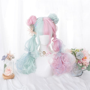 Cute Candy-Coated Cosplay Wig
