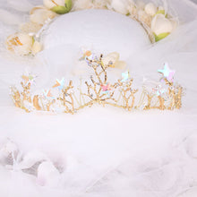 Load image into Gallery viewer, Tranquil Sea Goddess Tiara