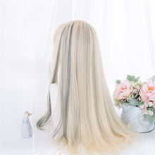 Load image into Gallery viewer, Glamor Blonde & Grey Ombre Wig